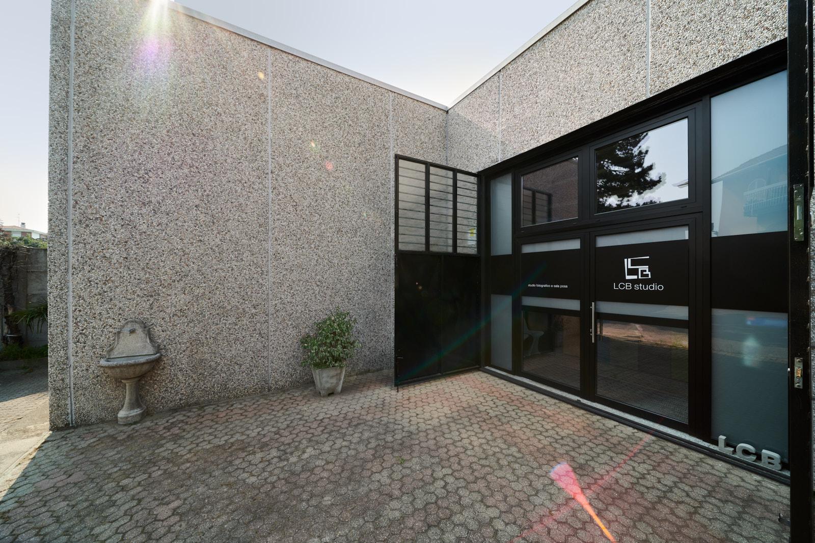 L'ingresso della nuova sede di LCBstudio | LCBstudio