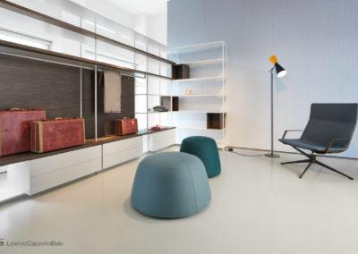 Servizio fotografico presso lo showroom milanese di MDFitalia| LCBstudio