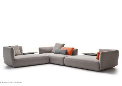Still life divano Cosy per MDFitalia | LCBstudio
