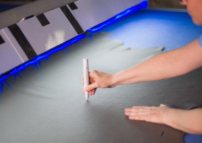 Reportage della produzione divani presso ATL Group | LCBstudio