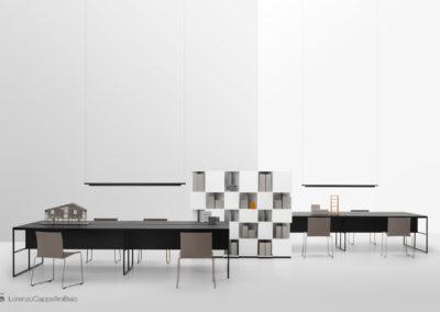 Set con i nuovi prodotti di MDFitalia per il catalogo New Books 2019 | LCBstudio