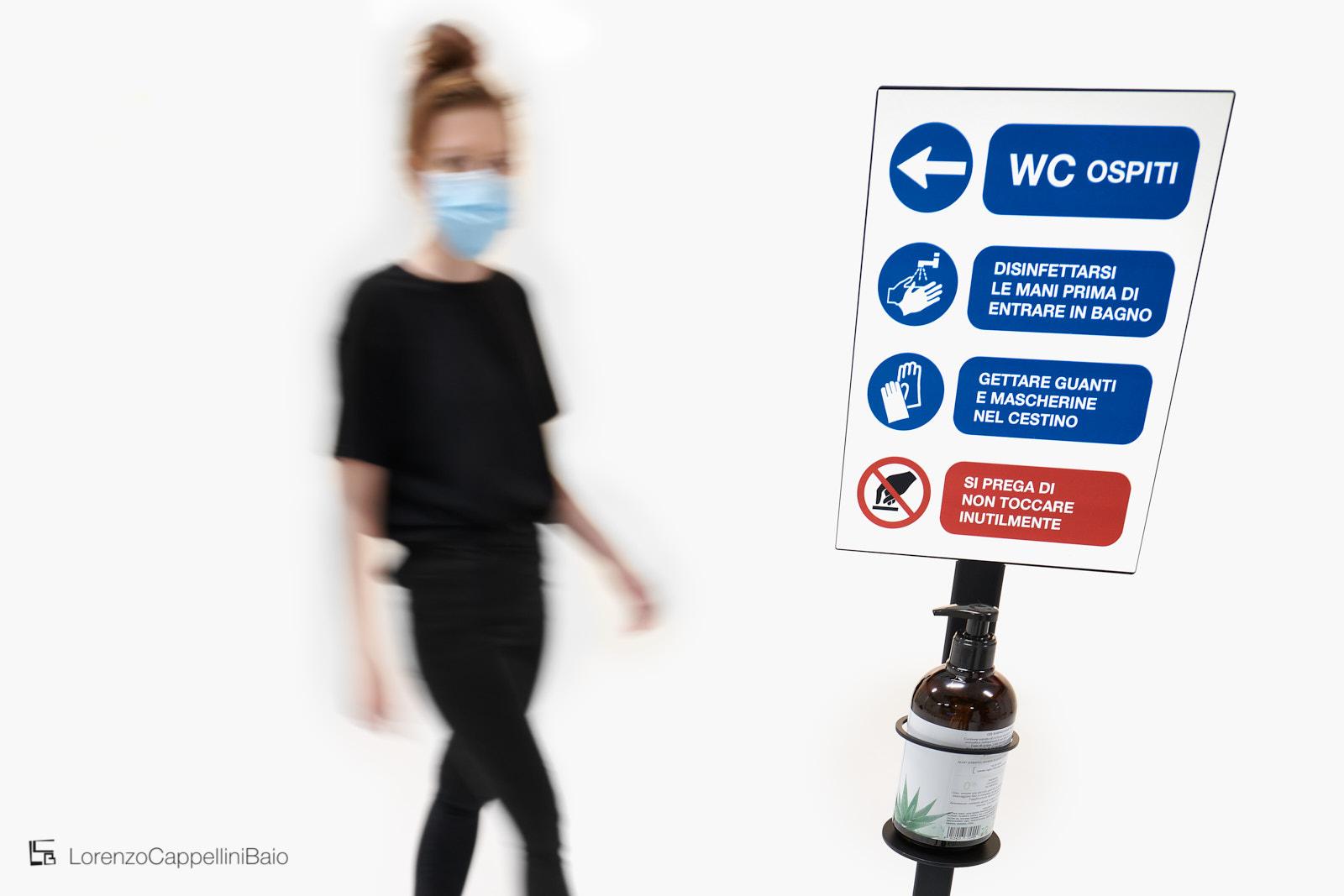 Misure precauzionali di sicurezza contro la diffusione del Covid | LCBstudio