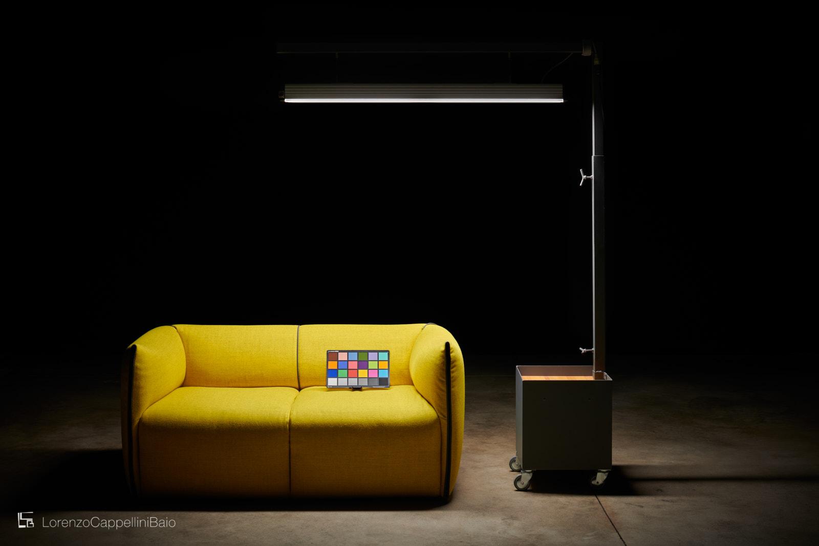 La luce normalizzata a disposizione dello studio per la corretta valutazione dei colori | LCBstudio