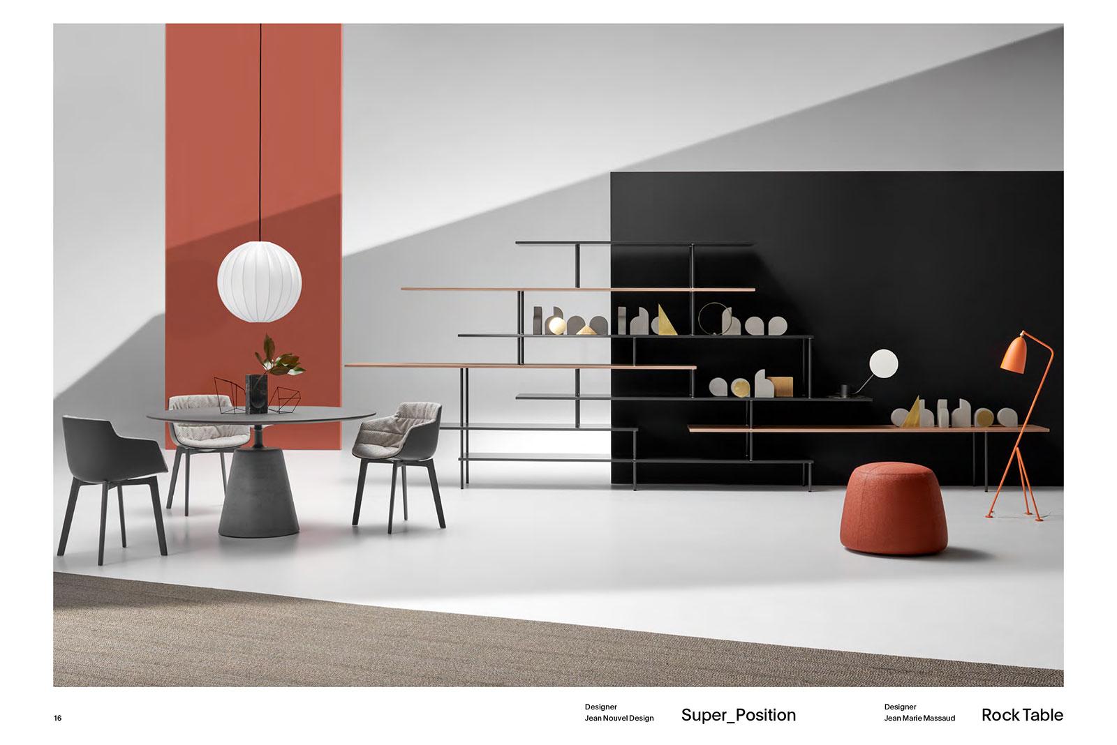 Pagina del catalogo News Book 2019 per IMM di Colonia | LCBstudio