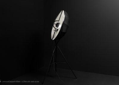 Set black della sala posa di LCBstudio | LCBstudio