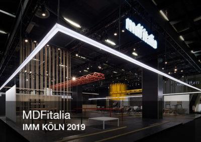 Copertina virtual tour per MDFitalia presente all'IMM di Colonia 2019 | LCBstudio