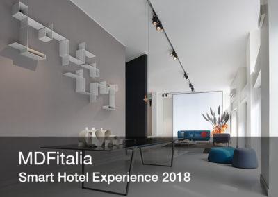 Copertina virtual tour per la smart hotel experience di MDFitalia | LCBstudio