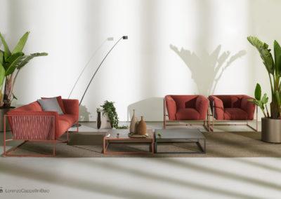 Nuovo catalogo e nuove ambientazioni per il nuovo catalogo outdoor di MDFitalia | LCBstudio